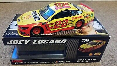 2019 Joey Logano Ford Mustang Standard 1/24 Diecast - 1 Of 1321 • 39.99£