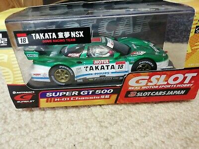Scalextric G SLOT TAKATA NSX Excellent Condition • 30£