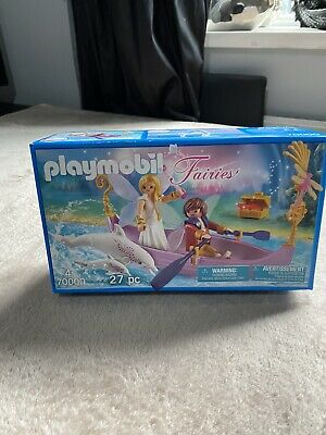 Playmobil Fairies - Dolphin Boat Fairy Set 27 Pieces New Sealed 70000 • 12.99£