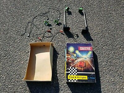 Vintage Triang Scalextric Track & Pit Lights Boxed A239 Trackside Lighting Set • 33.99£