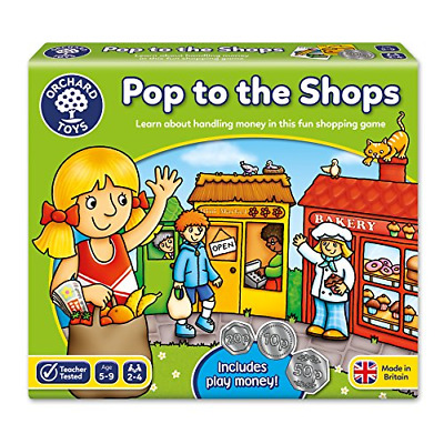 Orchard Toys Pop To The Shops Game • 9.57£