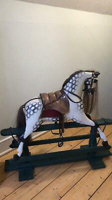 Rocking Horse  Professionally Restored  From Vintage Then Unused  Ayres  • 750£