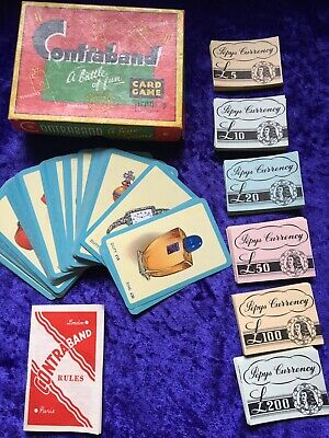 Vintage Pepys Contraband Card Game • 15£
