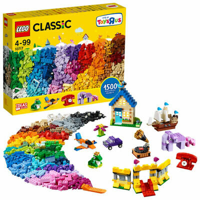 LEGO Classic 10717 Extra Large 1500 Pieces Toy Box Set • 36.99£
