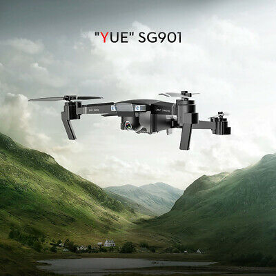 SG901 4K Drone With Camera Optical Flow Positioning MV Interface Follow Me X9I3 • 65.66£