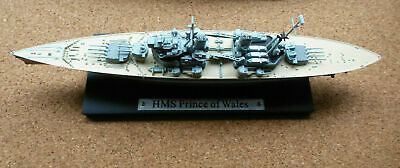 ATLAS EDITIONS 1:1250 WARSHIPS HMS Prince Of Wales • 10£