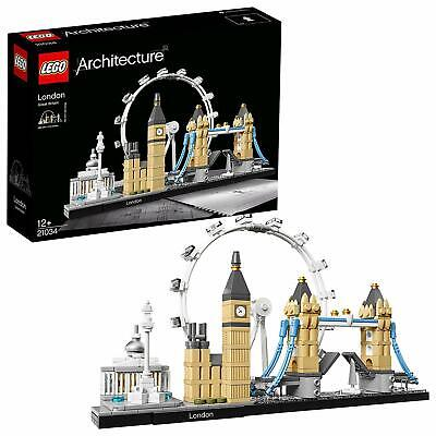 Lego Architecture Skyline Collection London Set (21034) 468 Pieces New Sealed • 33.99£