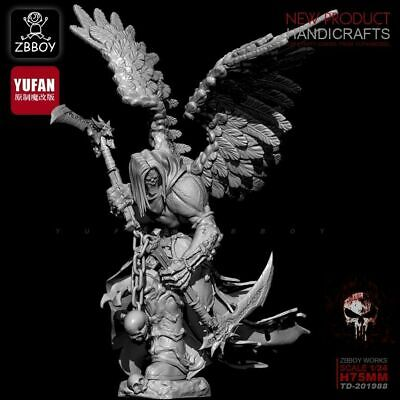 1/24 Death Knight Warrior Soldiers Scale Resin Figure • 31.30£