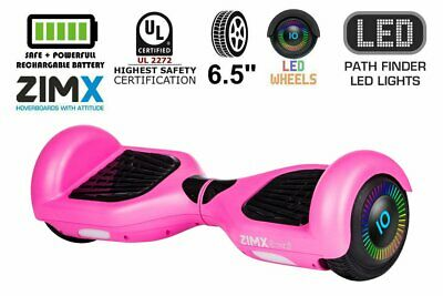 Pink Hoverboard With LED Wheels UL2272 Certified • 139.99£