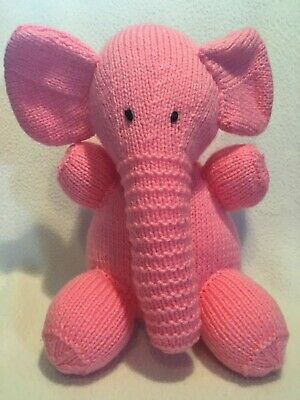 BN Knitted Pink Elephant • 8£