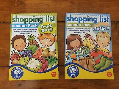 Orchard Toys Shopping List Game • 1.30£