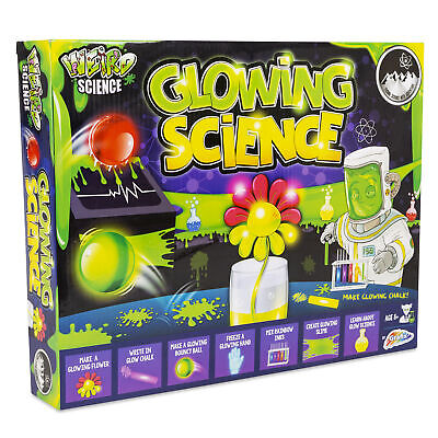 Awesome Glowing Science Chemistry Experiment Set Weird Science Kits Fun • 6.99£