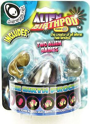 Alien Egg Birth Pod With 2 Alien Babies Kids Squishy Gooey Toy Party Bag Filler • 6.99£