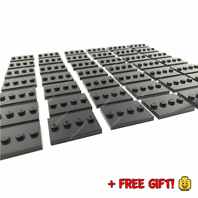 Lego NEW Black Mini Figure Display Base Stands 3 X 4 Modified Tile 88646 + Gift! • 24.99£