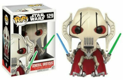 Funko Pop Star Wars General Grievous #129 Vinyl Action Figure Toys Xmas Gifts • 21.99£
