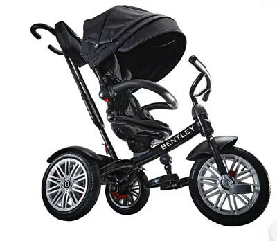 Bentley Kids 6-In-1 Trike Ride On Handle Push Children's Bike With Box • 175£