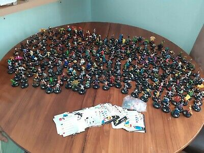 Joblot Heroclix Over 300 With Cards And Dice!!! • 31£