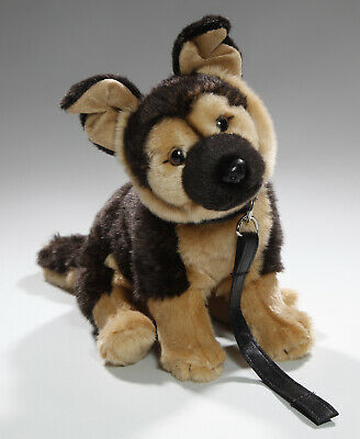 German Shepherd Soft Teddy Bear Toy Cuddly Critters Plush Puppy Dog Alsatian New • 15.99£