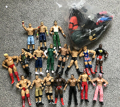 Wrestling Bundle Figures And Outfits  • 20£