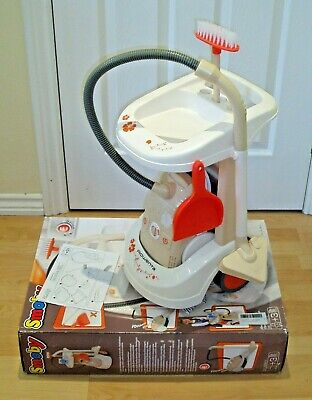 Smoby Cleaning Trolley With Vacuum Cleaner & Accessories Boxed Rrp £39.99  • 14£