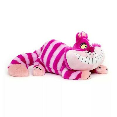 Large 30cm Disney Store Stamped Cheshire Cat Alice In Wonderland Plush Soft Toy • 0.99£