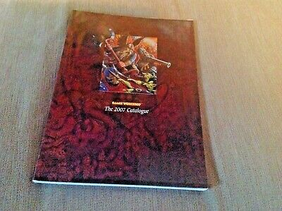 Games Workshop The 2007 Catalogue Paper Back Book • 7.55£