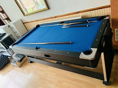 Mightymast Leisure 7ft Revolver 3in1 Rotating Pool, Air Hockey And Table Tennis • 380£