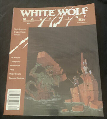 White Wolf Magazine #25, Feb/march 1991, 3rd Annual Superhero Issue, Roleplay • 0.99£
