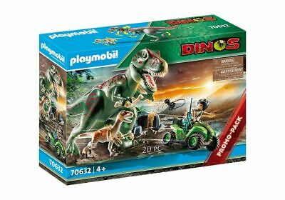 Playmobil 70632 Dinos T-Rex Attack With Raptor And Quad • 24.99£