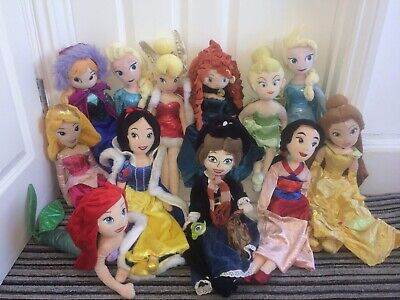 "Disney Princess 20"" Bundle 12x Plush Doll Include Marry Poppins • 0.01£"
