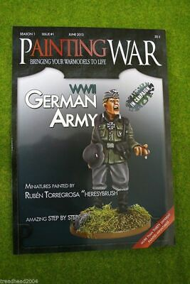 Painting War Issue #1 Wwii German Army Book/ Magazine • 16£