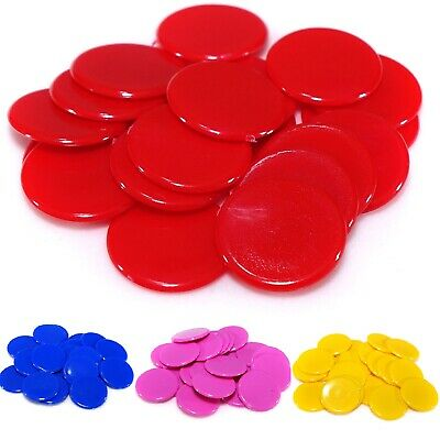 15mm Counters (10 Colours) Tiddlywinks Educational Numeracy Maths Games • 2.55£