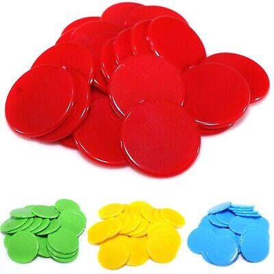 22mm Counters (15 Colours) Tiddlywinks Educational Numeracy Maths Games COL • 3.39£