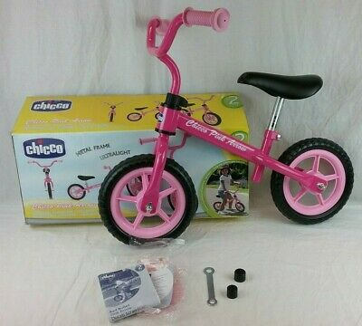 Chicco PINK ARROW BIKE Toy Toddler Child's First Bicycle 2+ Years - Boxed - Used • 29.99£