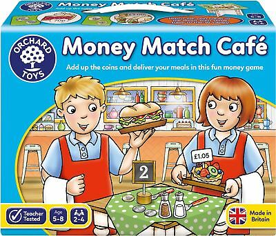 Orchard Toys MONEY MATCH CAFE Educational Game Puzzle BN • 12.68£