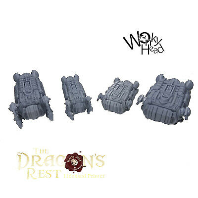 28mm Sci Fi Boarding Pods, Dragons Rest, Tabletop Terrain, Wargaming, • 25£