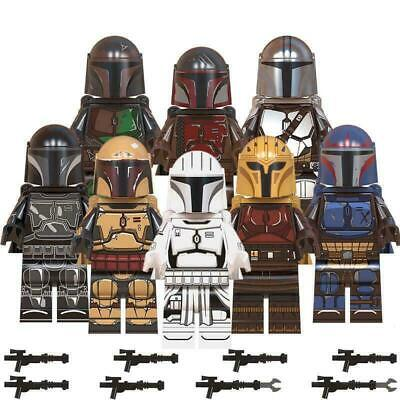 Mandalorian Set (Pack Of 8) Star Wars Minifigure Free Yoda Uk Seller F Its Lego  • 12.99£