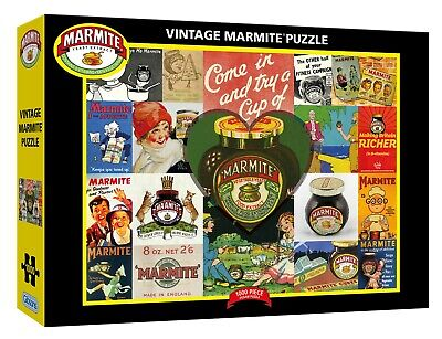 Gibsons Vintage Marmite 1000pc Puzzle G7105 • 12.99£