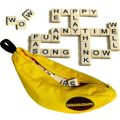 New Bananagrams Classic Family Fun Kids Toy Word Game Spelling Xmas Gift • 4.99£