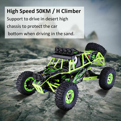 Wltoys RC 1/12 2.4G 4WD Car 50KM/H High Speed RC Off-road Car • 54.60£