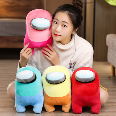 20CM Among Us Plush Soft Stuffed Toy Doll Game Figure Plushie Kids Xmaxs Gift UK • 6.66£