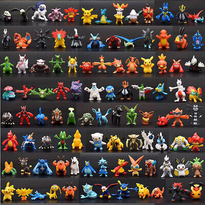 144pcs Pokemon Monster Collectible Action Figures Doll Set Kids Toy Xmas Gifts • 14.99£
