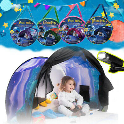 Kids Dream Tents Unicorn Dinosaur Space Foldable Pop Up Tent Bed Playhouse Gifts • 13.99£
