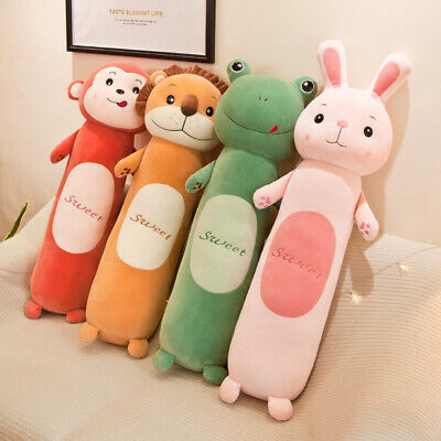 Children Pillow Lazy Plush Toy Long Sleeping Cylindrical Pillow Doll Creative~/ • 37.81£