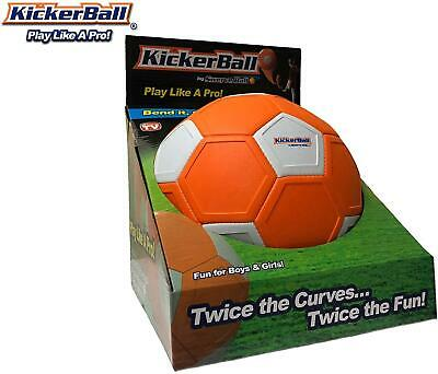 Kickerball By Swerve Ball Kids Adults Play Toys Outdoor Football Curving • 29.95£