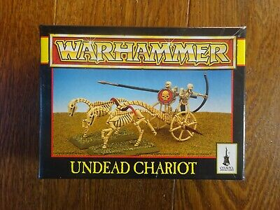 Warhammer Undead Chariot Boxed Set.  New, Un-used. Complete • 27£