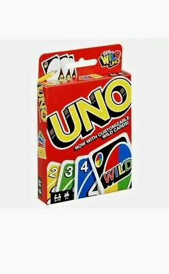 Uno Get Wild Family & Kids Fabulous Cards Game Indoor Play UK Seller • 2.59£