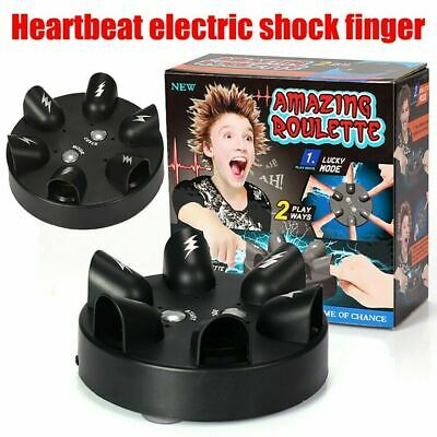Electric Shock Finger Lie Detector Tricky Game Party Decompression Fun Toys Gift • 14.26£