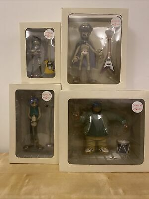 Kidrobot X Gorillaz CMYK White Edition Full Set • 400£