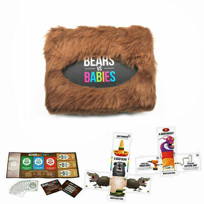 2020 Bears Vs Babies - A Monster-Building Card Game - Family-Friendly PartyGame- • 13.65£